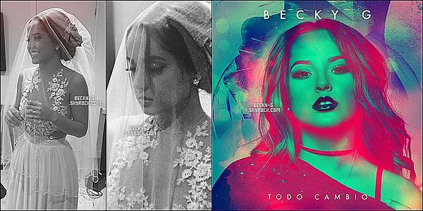 """Un nouveau single de Becky """"Todo Cambio"""" où elle a posté le clip le jour de son anniversaire. Ce clip a été tourné à Madrid lors de sa venu en octobre. On peut remarquer que Becky est très sublime, j'en suis fan ! Vos Avis ??!"""