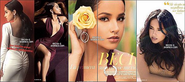 """Un nouveau photoshoot pour le magazine mexicain """"para todos"""", dont Becky est en couverture. Sublime comme toujours, a pris des photos en longue robe jaune ainsi que d'autres couleurs qui lui rende très classe. Un gros TOP."""