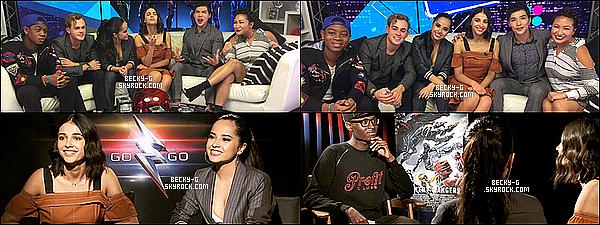 10 / 03 / 17 : Becky s'est rendue dans plusieurs plateau où elle a fait la promo pour le film P.R . Sublime comme toujours, Elle a été avec ses co-stars donnés des interviews, un facebook live mais aussi une conférence de presse.