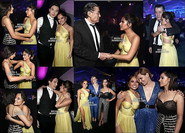 23 / 03 / 17 : Becky & le castont été par la suite à l'after party de l'avant première du film PR. Beckytrès sublime avec sa robe jaune et toute mimi avec le reste du cast &Haim Sabm. ça se voit qu'elle est contente du film.