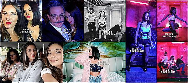 Série de photos personnelles de notre Becky postées récemment sur Twitter ou Instagram. Récemment Beckya tourné un nouveau clip qui va bientôt sortir. Pour cela, nous avons que des photos qui confirme le thème du clip.