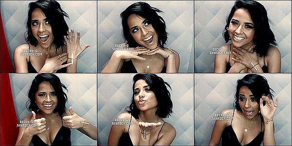 Série de photos de Becky postées récemment sur Twitter ou Instagramet venant d'une vidéo. Le 1er montage, c'est une série de photos provenant d'une vidéo. Elle a des airs de Demi Lovato. 2e montage, c'est avec sa famille.