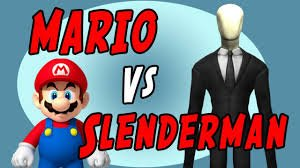MARIO VS SLENDERMAN
