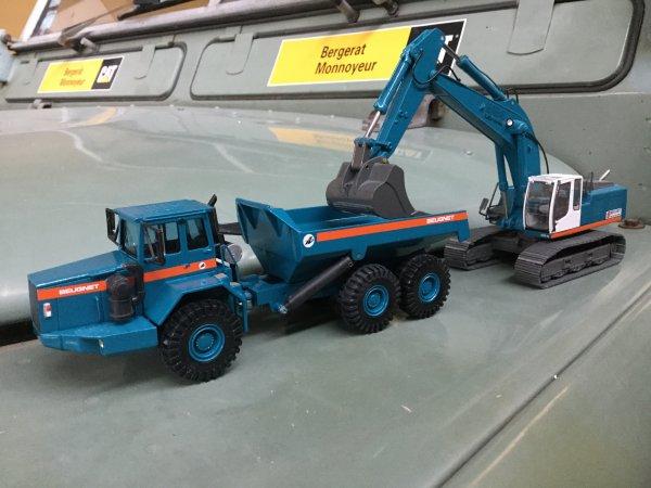 A propos de Beugnet, partie 45....les dumpers articulés Volvo Série C
