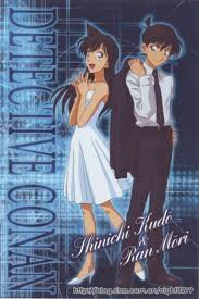 1er couple! Shinichi et Ran <3