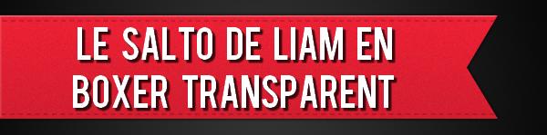 Le salto de Liam en boxer transparent