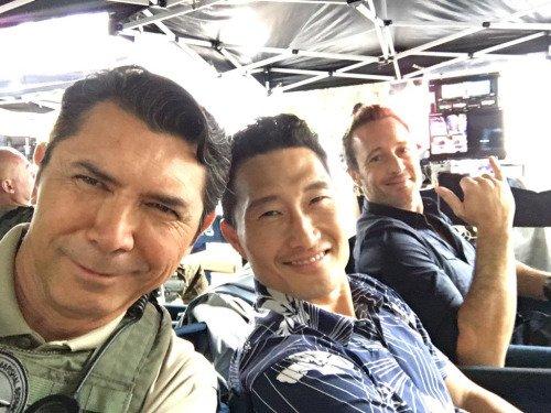 Photos posté sur instagram par les acteurs