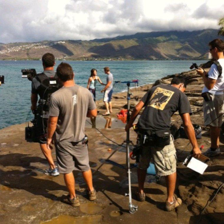 Quelques photos de tournage durant les 10 saisons
