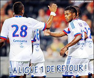 xOlympiqueLyonnais ~ Ligue 1, 1ère journée