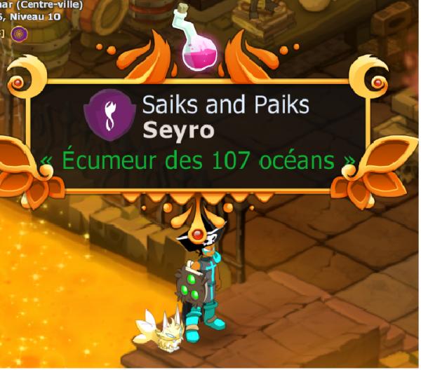 Seyro l'ecumeur des 107 océans