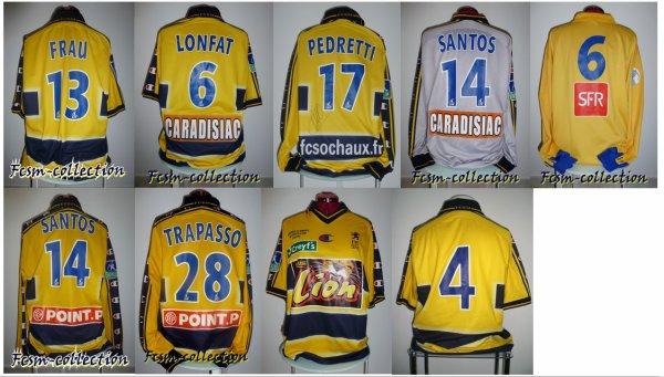Récapitulatif saison 2002/2003