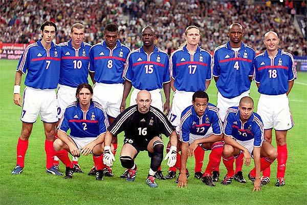 Maillot de l'équipe de France