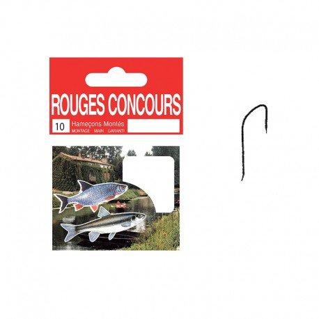 CARNET HAMECONS MONTES (x10) ROUGES CONCOURS  ( stock 10 )