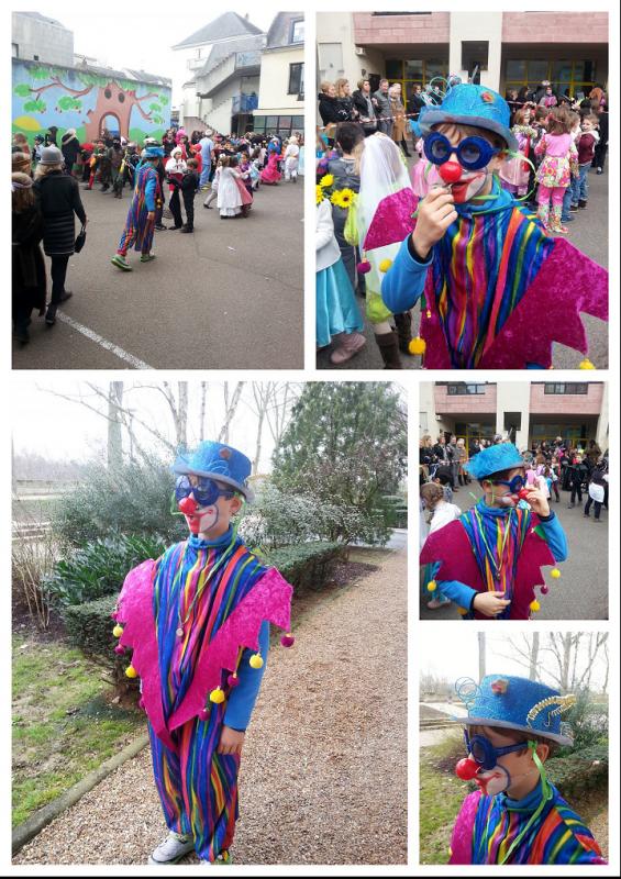 Complicité*Carnaval à Tours - faire des fleurs au crochet où récup papiers