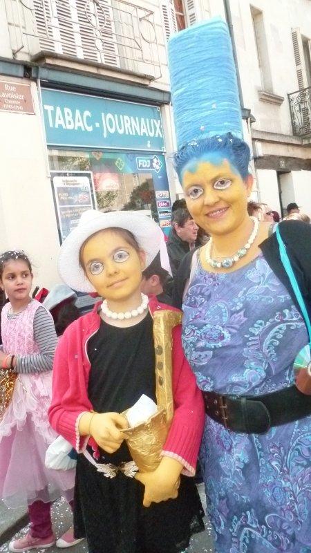 Carnaval 2015 Tours: - Médaillées les petitesTenues