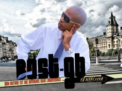 """Bost-GB - Album """"Différent"""" FRONT FACE"""