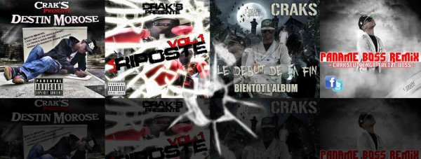 CRAKS DISCOGRAPHIE BY T-GRAPH