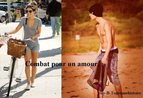 Combat pour un amour.
