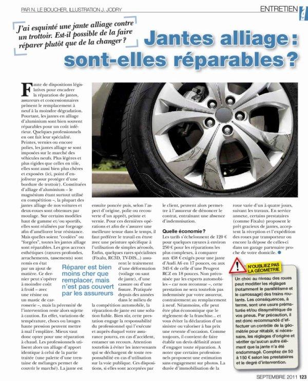 """ARTICLE PARU SUR  """"AUTO-MOTO"""""""