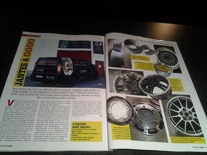 Vous avez envie d'en savoir plus sur notre entreprise ? 4 pages nous sont consacrées dans le VW tech numéro 67 !!