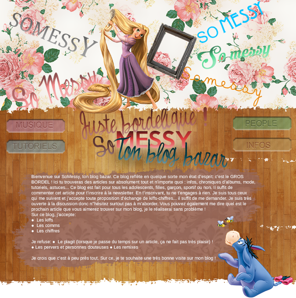 Bienvenue sur SoMessy, ton blog bazar !