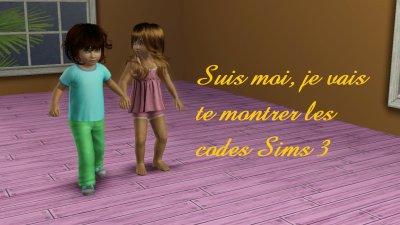 Codes sims 3
