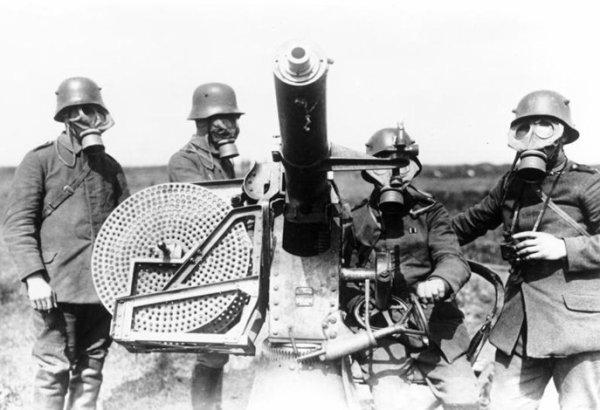 MASQUE ANTI-GAZ ALLEMAND 1915.