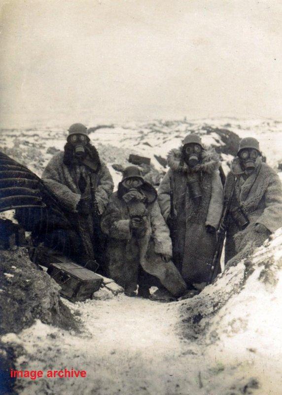 MASQUE ANTI-GAZ ALLEMAND MLE 1918