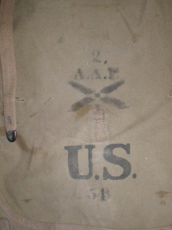 RENTREE HAVRESAC U.S WW.1