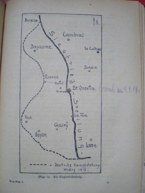 HISTORIQUE DU DR 5 VON MANTEUFFEL 1914/1919