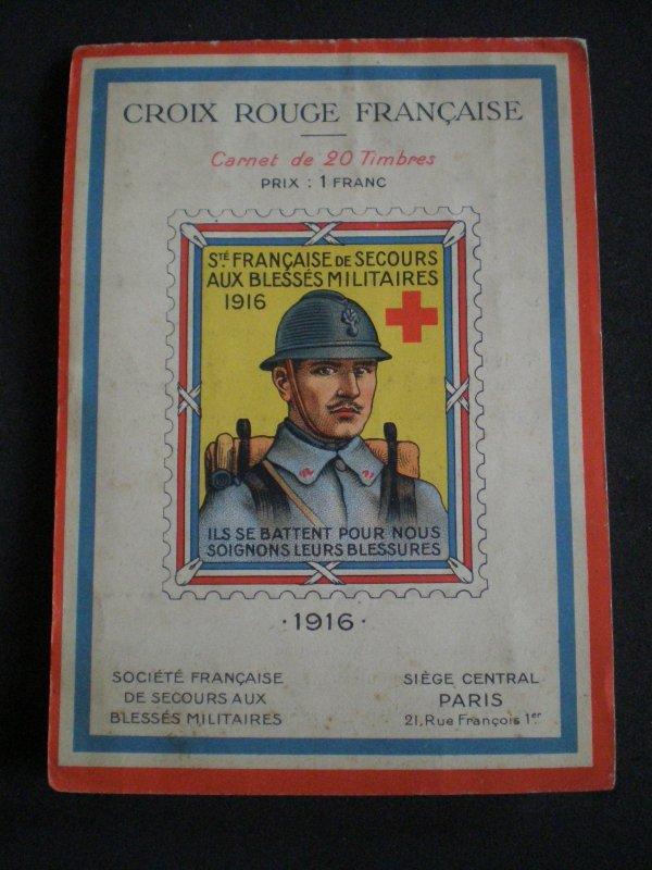 CROIX ROUGE FRANCAISE 1916
