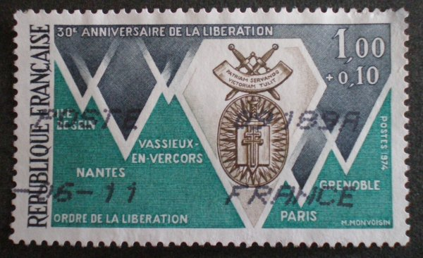 TIMBRES THEME MILITAIRE
