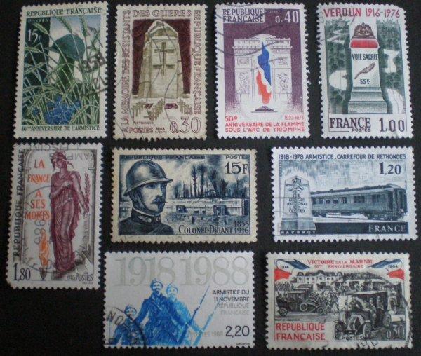 TIMBRES !!!! (merci à mon frère pour les timbres).