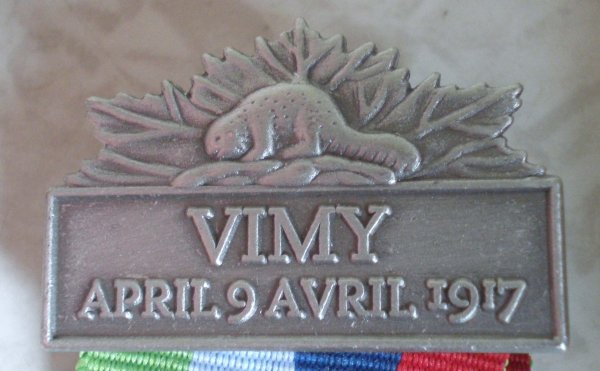 RENTREE MEDAILLE PELERINAGE VIMY.