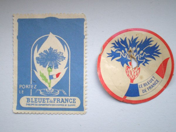 LE BLEUET DE FRANCE .