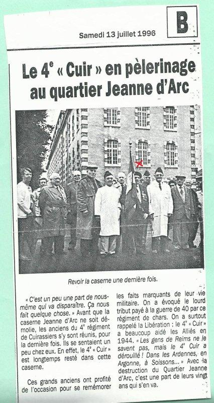A LA MEMOIRE DE MON ONCLE PORTE DRAPEAU DU 4ème CUIRASSIERS