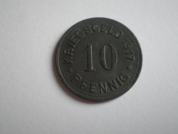 RENTREE KRIEGSGELD 1917 MÜNSTER