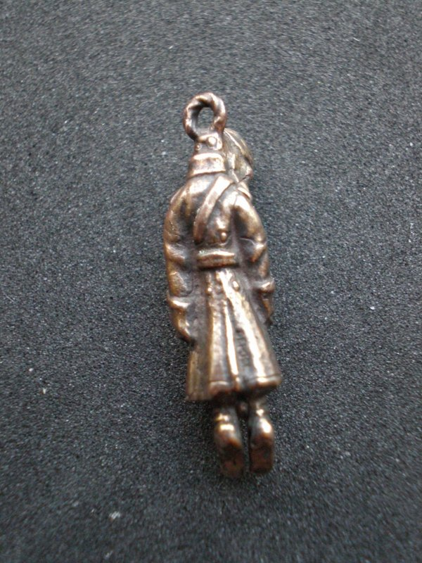 RENTREE PENDENTIF SATYRIQUE GUILLAUME II .OU PRUSSIEN