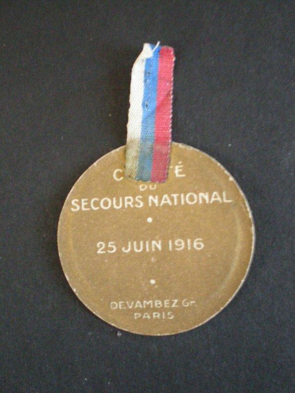 RENTREE JOURNEE SERBE 1916
