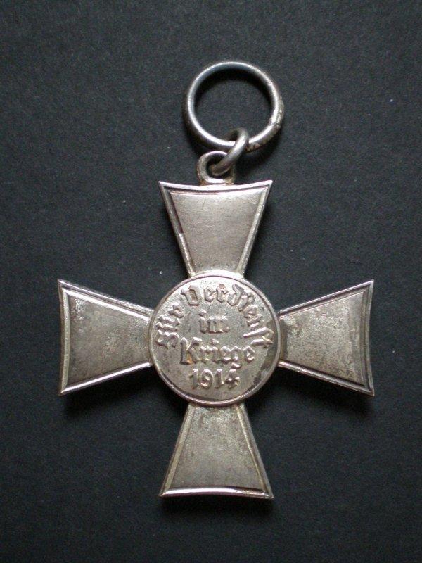 """RENTREE CROIX HANSEATIQUE HAMBOURG 1914  """"HANSEATENKREUZ"""""""