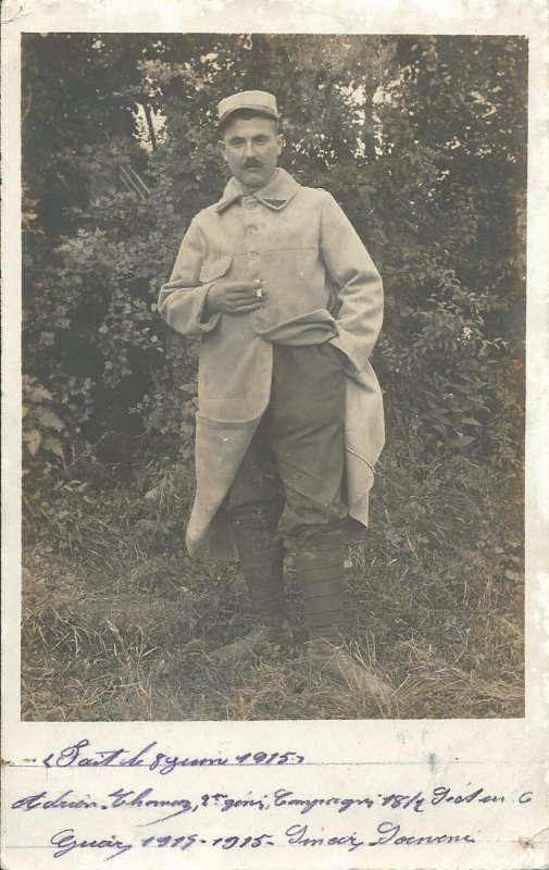 PHOTO: 2ème RGT DU GENIE 1915,  KDO DE MA NIECE.