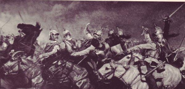 "06.08.1870 CHARGE DES CUIRASSIERS A ""REICHSHOFFEN"" WOERTH- FROESCHWILLER"