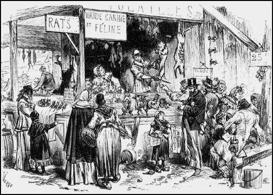 GUERRE 1870/1871 SIEGE DE PARIS  (1/5)