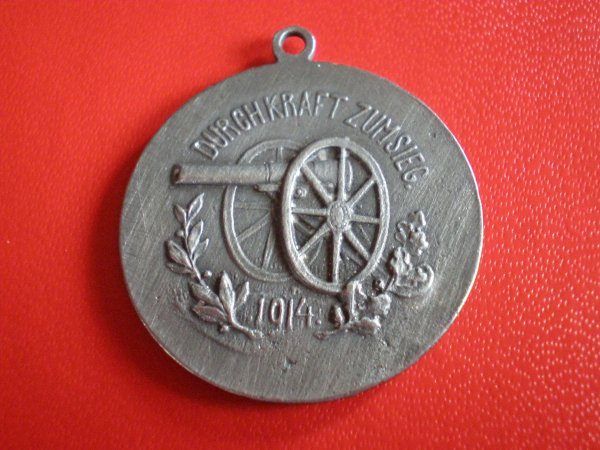 RENTREE MEDAILLE 1914 PRUSSE/AUTRICHE.