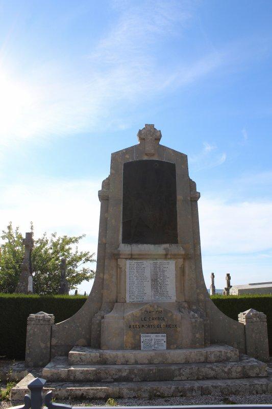MONUMENT LE CAYROL (AVEYRON)