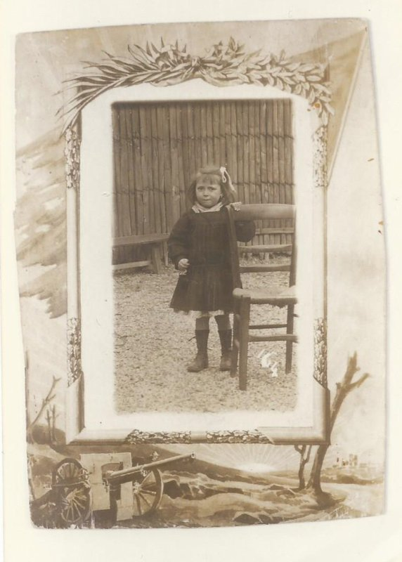 PHOTO DE MA TANTE 1914/1918.