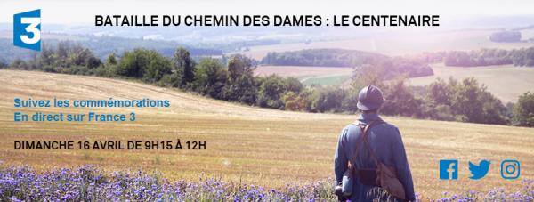 COMMEMORATIONS CHEMIN DES DAMES