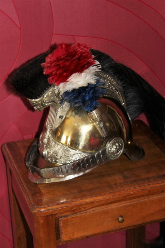 rentree casque gendarme a cheval mle 1912 1 2 militaria et cpa ww1. Black Bedroom Furniture Sets. Home Design Ideas