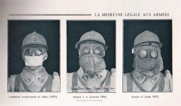 RENTREE MASQUE M2B MLE 1917 .