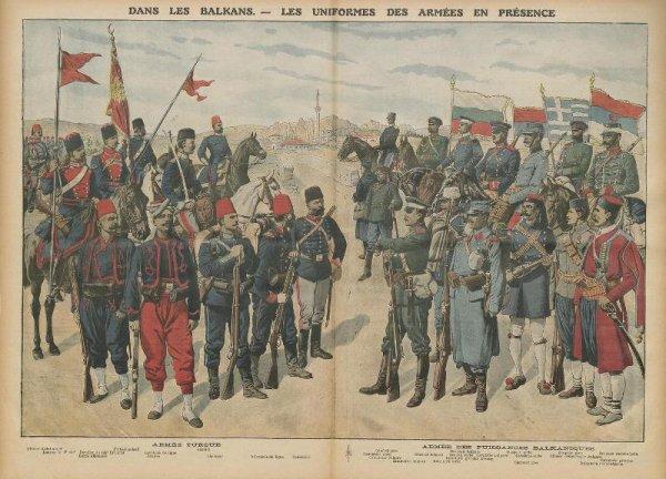 RENTREE MEDAILLE AUTRICHE BALKANS 1912/1913.